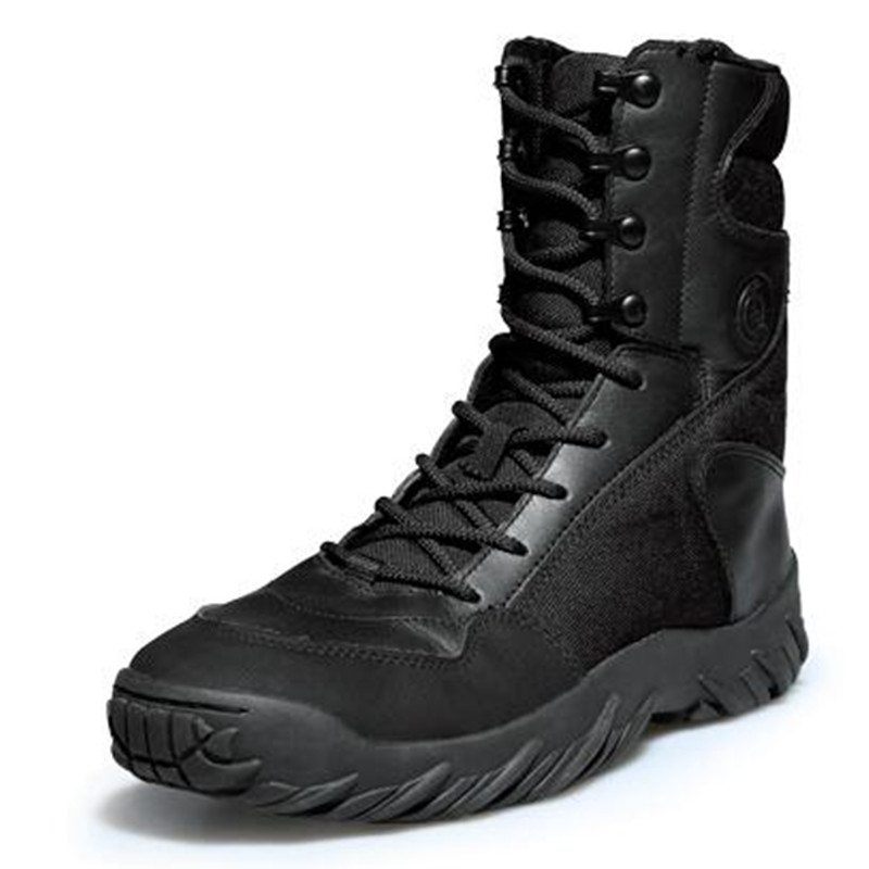 Outdoor US Army Military Men Tactical Boots Mountain Hunting Climbing Boots Breathable Lightweight Shoes
