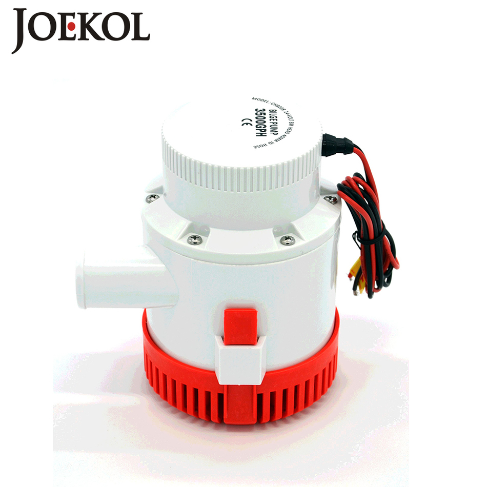 ФОТО Large flow dc 12v/24v bilge pump 3700GPH electric water pump for boats accessories marin,submersible boat water pump