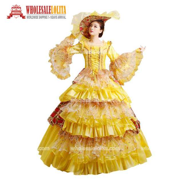d17ad04daa5cc US $120.0 |HOT!! Global FreeShipping 18th Century Belle Marie Antoinette  Gown Costumes Rococo Dresses and Carnivale Dresses-in Dresses from Women's  ...