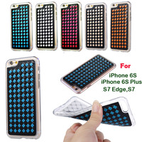 Weave Knit Leather Case For Iphone 5 5s Se 6 6s Samsung Galaxy Cases Soft Tpu