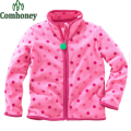 Baby Girl Boy Jackets Polar Fleece Striped Hoodies Spring Child Outwear Kid Cute Coat Toddler Sport Sweatshirt Children Clothing