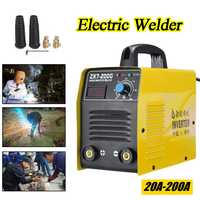 220V 20 200A 25KVA Handheld Mini MMA IGBT Inverter Mini Electric IGBT MMA ARC ZX7 7Welding Welder Machine Tool