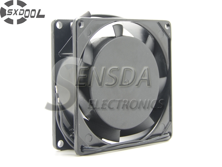 SXDOOL 8025 80*80*25mm 8cm AC 220V  0.07A Sleeve bearing Quiet Cooling fan sanyo new fv28025hba 8025 220v 0 15a ac condenser fan with fan for wonsan 80 80 25mm