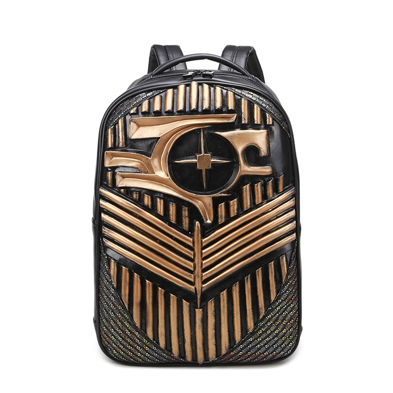 Fashion Backpacks for Teenage Girls Women PU Leather Backpack Men School Bag Casual Vintage Large Capacity Black Travel Backpack fashion gold leather backpack women black vintage large bag for female teenage girls school bag solid backpacks mochila xa56h