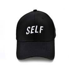 Bryson Tiller SELF hat - Dad cap black true to self trapsoul men women baseball