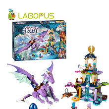 lagopus Elves  Blocks Toys The Dragon Sanctuary Building Brick Blocks Sets DIY  with  Friends Educational Toys  for Children 10549 bela elves the dragon sanctuary building bricks blocks kit educational toys compatible with lepine 41178 toys for girls