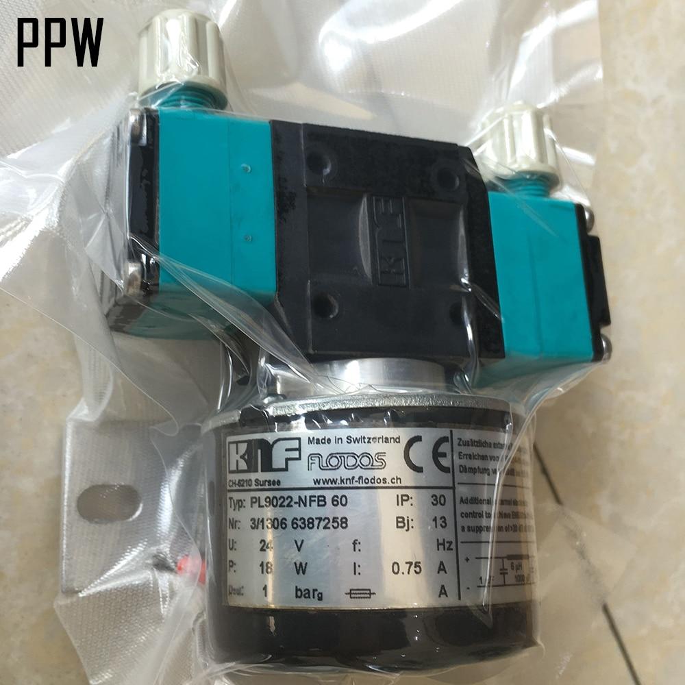 18W 24V KNF circulating ink pump for Ceramic printer 4pcs lot original knf flora pump for flora inkjet printer pm21461 nmp830 solvent pump