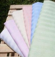 100% algodão de cetim amarelo/branco/rosa de seda eram três-cor 100% algodão acetinado capa de edredão 220*240 CM