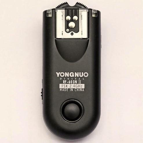 Yongnuo RF-603 II C3, RF 603 II Sans Fil Déclencheur Flash 1 Émetteur-Récepteur pour 560III 560IV CANON 7D 700D 70D 5D II 5 DIII 50D 600D