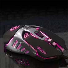 imice Mice Wired Gaming Mouse Professional Gaming Mouse  Computer Game Mouse USB 3200 DPI 7 Button Colorful LED gaming mouse logitech g102 wired mouse gaming optical 200 6000 dpi gaming mice rgb led mouse