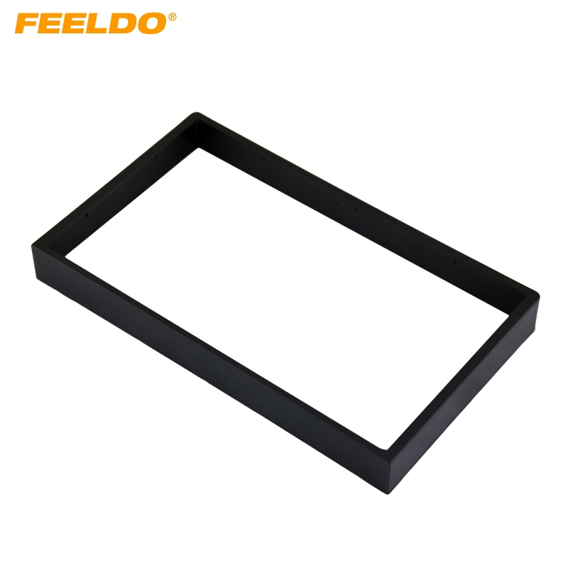 FEELDO 1Pc Coche DVD / CD Radio Estéreo Fascia Panel Marco Adaptador - Autopartes