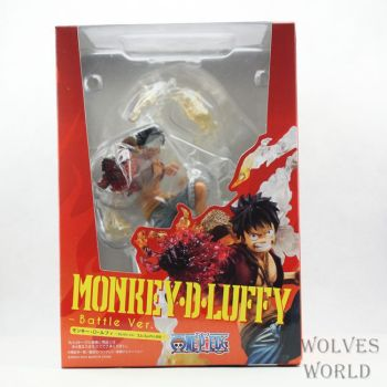 Anime 7″ One Piece Monkey D Luffy Battle Ver. Figuarts Zero Boxed Action Figure Collection Model Toy