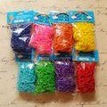 8 компл./лот (Mix 8 Цветов) комплект Для Заправки Twistz Группа Резина Loom Bands Браслеты (600bands 600 s-клипы/Set) для Ювелирных Изделий DIY