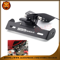 Motorcycle Tail Tidy Fender Eliminator Registration License Plate Holder bracket LED Light For DUCATI Panigale 899 free shipping