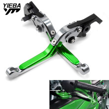 For KAWASAKI ZX7R ZX-7R ZX 7R 1989-2003 2002 2001 2000 1999 CNC Motorcycle Adjustable Folding Brake Clutch Levers With