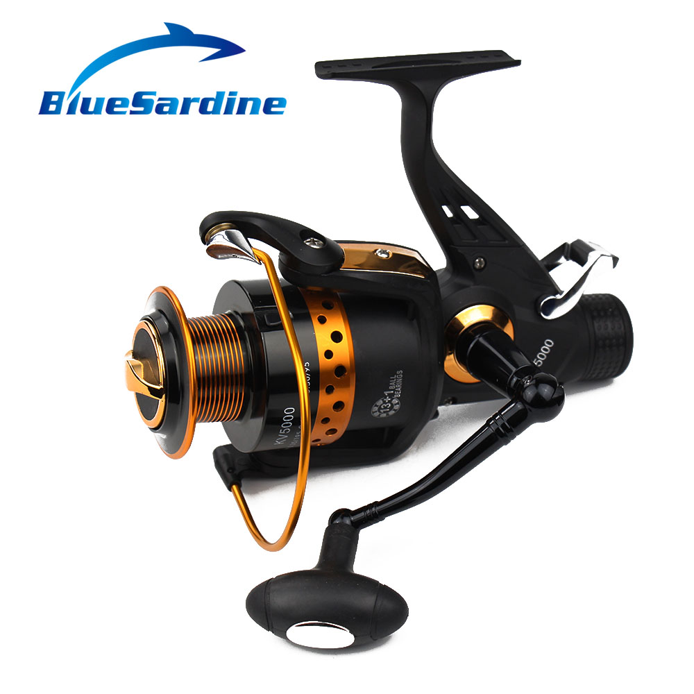 BlueSardine 13 + 1 BB 5.2: 1 Metal Spinning Fishing Reel Pesca - თევზაობა - ფოტო 4