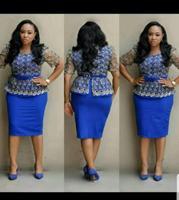 2019 new elegent fashion style african women beauty plus size dress M 3XL