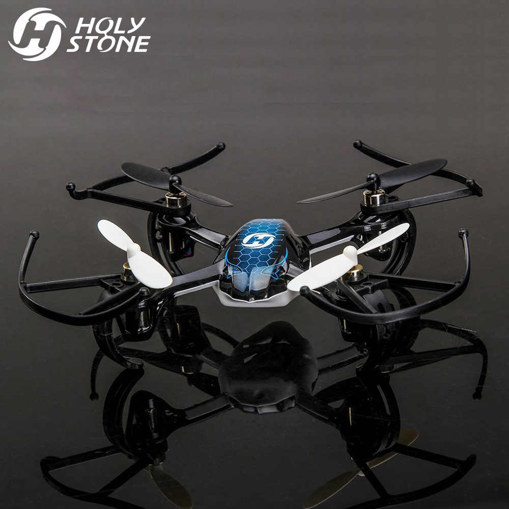 Helicóptero teledirigido HS170 Predator Mini RC 2,4 Ghz de 6 ejes Gyro 4 canales Quadcopter buena elección para dron de formación
