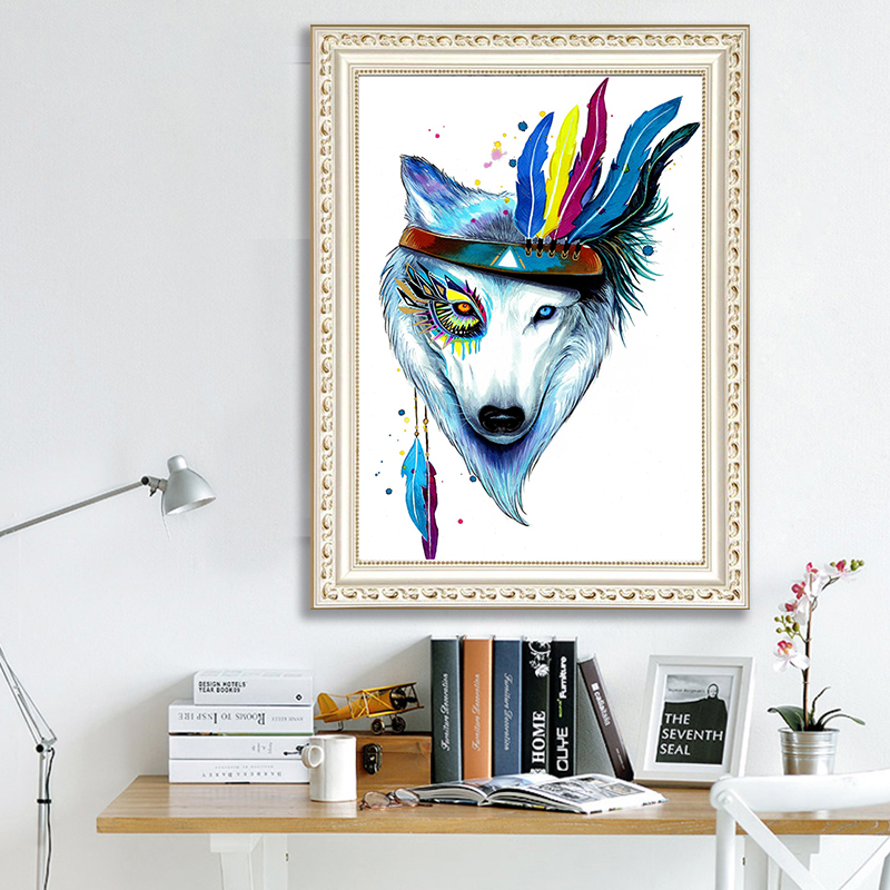 DIY diamond painting Pirates of the Wolf 5d icon embroidery mosaic decoration new year gift