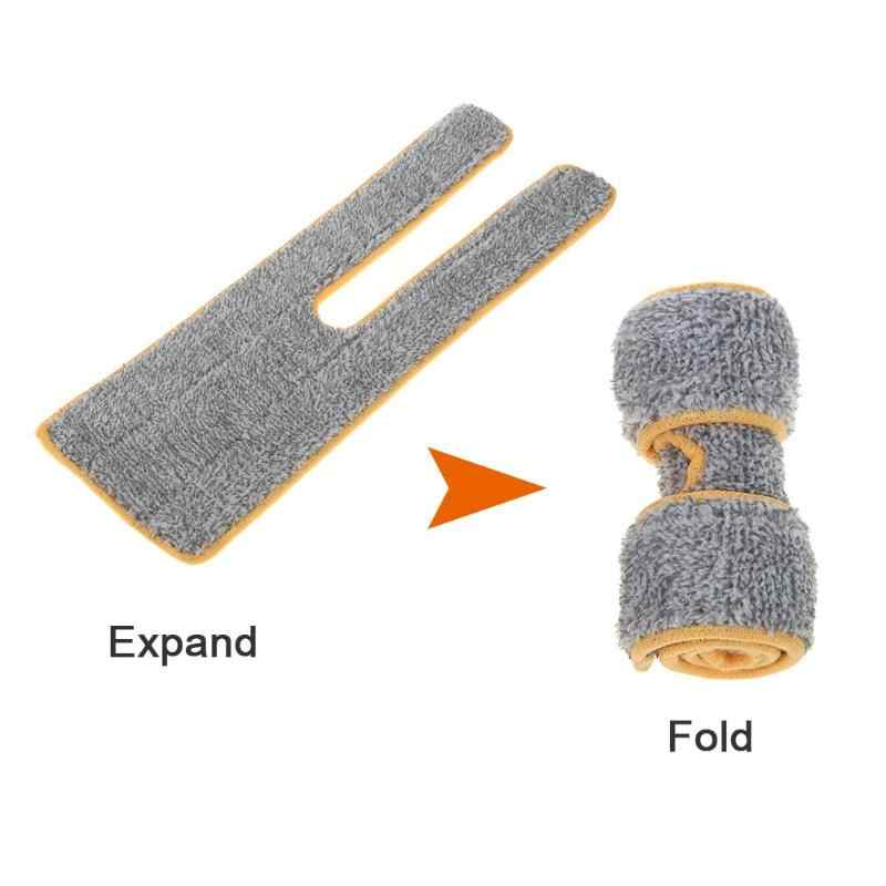 Dupla Face Não Lavar As Mãos de Limpeza Mops Planos Mop Pano Mop Pano de Microfibra Substituir Lançando Ferramentas de Limpeza de Pano