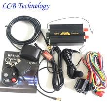 2016 Coban TK103B Del GPS Del Vehículo Perseguidor GPS103 Plataforma de Control Remoto Portoguese tarjeta SD de Banda Cuádruple GPS GSM Tracker