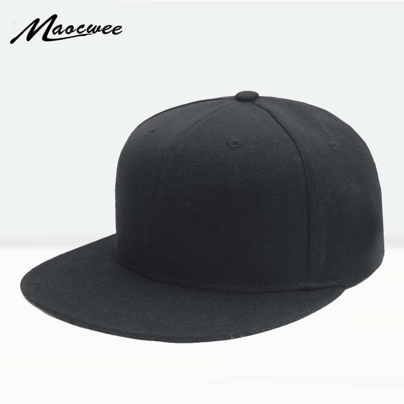 Hot 2017 Brand New Snapback Cap Outdoor Cap Men And Women Adjustable Hip Hop Black Snap Back Baseball Caps Hats Gorras