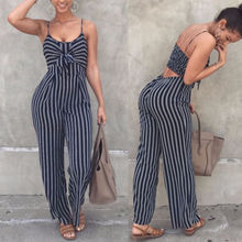 2019 Newest Fashion Hot Sexy Ladies Women Clubwear Playsuit Bodysuit Party Jumpsuit Romper High Quality Sleeveless Long Trousers(China)
