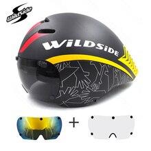 с гоночный объектива шлем