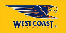 West Coast Eagles logo Flag 3x5FT AFL banner 100D 150X90CM Polyester brass grommets custom66,free shipping
