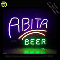 Abita Beer Neon Sign neon bulb Sign Glass Tube neon lights Recreation Sport Pub Iconic vintage Sign Advertise personalized Lamp