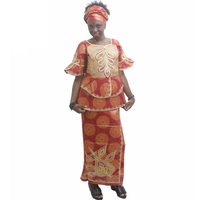 MD african women clothing sets african skirts for women african print dresses patterns bazin skirt and top suit africa turbans