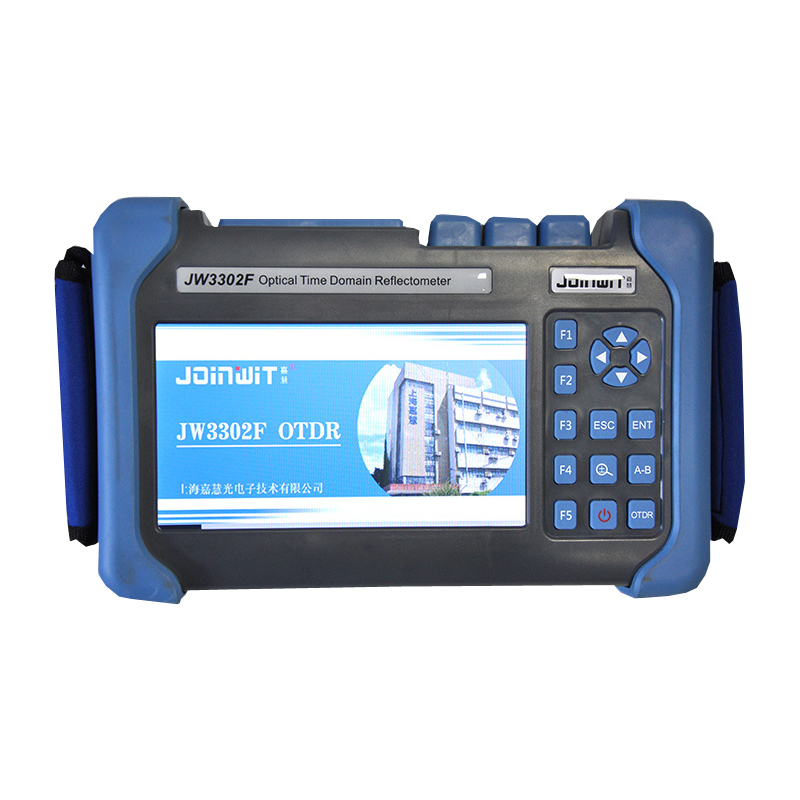 ZHWCOMM Handheld JW3302F OTDR 1310/1550nm Optical Time Domain Reflectometer VFL function Visual Fault Location Function