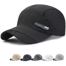 Yfashion Man Adjustable Casual Summer Hat Baseball Cap Brand Men Women Dad Quick Dry Cap Hats for Men Male [aetrends] 2017 new summer baseball cap men quick dry mesh baseball hats for man z 5231