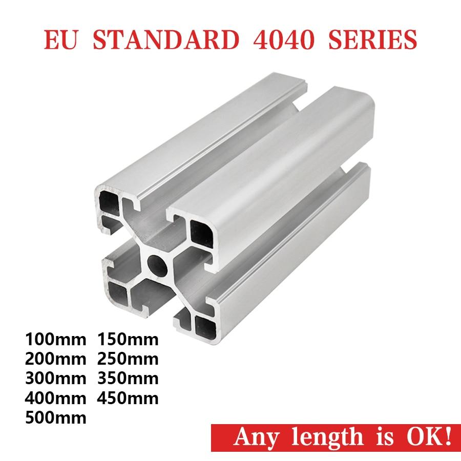 US $6 99  hotsale OEM led light aluminium profile punch tools aluminium  profile aluminum profile extrusion heatsink v slot profile 40x40-in  Furniture