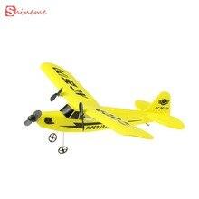 Новое прибытие ретро чайка rc самолет с пластика дистанционного управления самолета модели kid дети toys
