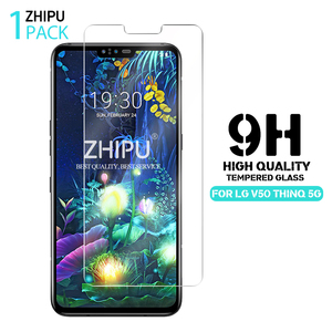 Image 1 - Tempered Glass For LG V50 ThinQ 5G Screen Protector 2.5D 9H Premium Tempered Glass For LG V50 ThinQ 5G Protective Glass Film