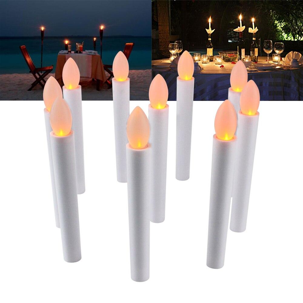 10pcs Party Wedding Christmas Home Tree Decoration LED Candles light ...