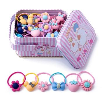 Girls 40 PCS Hair Ties Accessories Gift Box