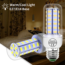 Lampada Led E27 Bulb 220V E14 Lamp 5730SMD bombillas led Corn Light 24 36 48 56 69 72leds Chandelier 3W 5W 7W 9W 12W 15W