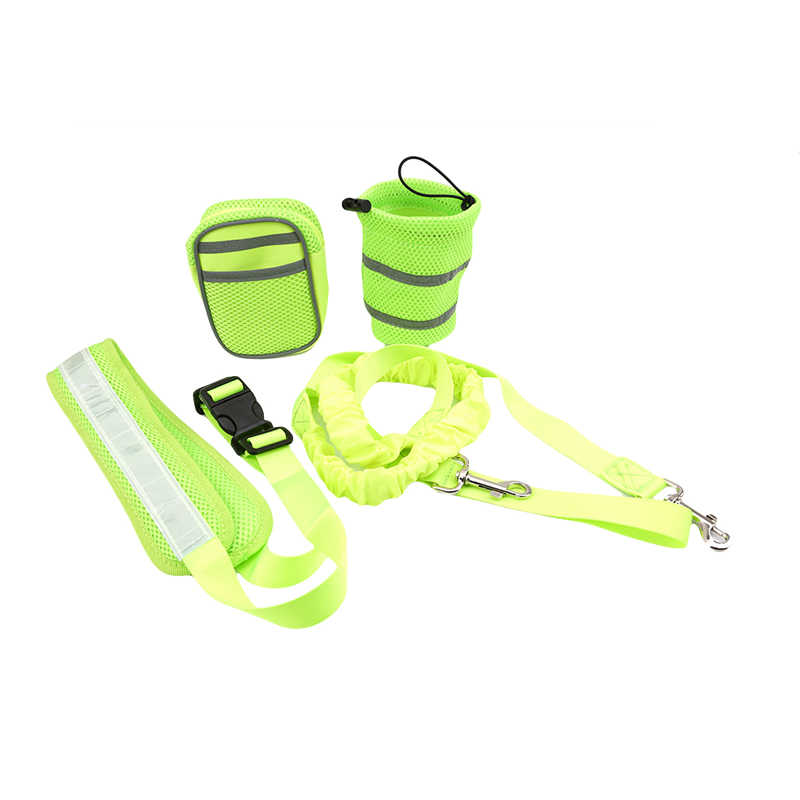 Libre de la correa de perro, Collar mascota elástico cinturón running perro Correa Set manos accesorios para mascotas arnés para perro cachorro correa para los animales