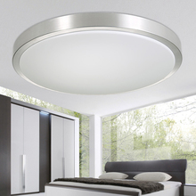 round modern living lamps lighting fixtures luces del techo led ceiling lights bedroom acrylic kitchen light luminarias
