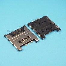 25 шт./лот Sim держатель для карт для samsung I9000 S5360 I9220 слот для карт памяти N7000 i699 S6358 note1 гнездо sim-карты
