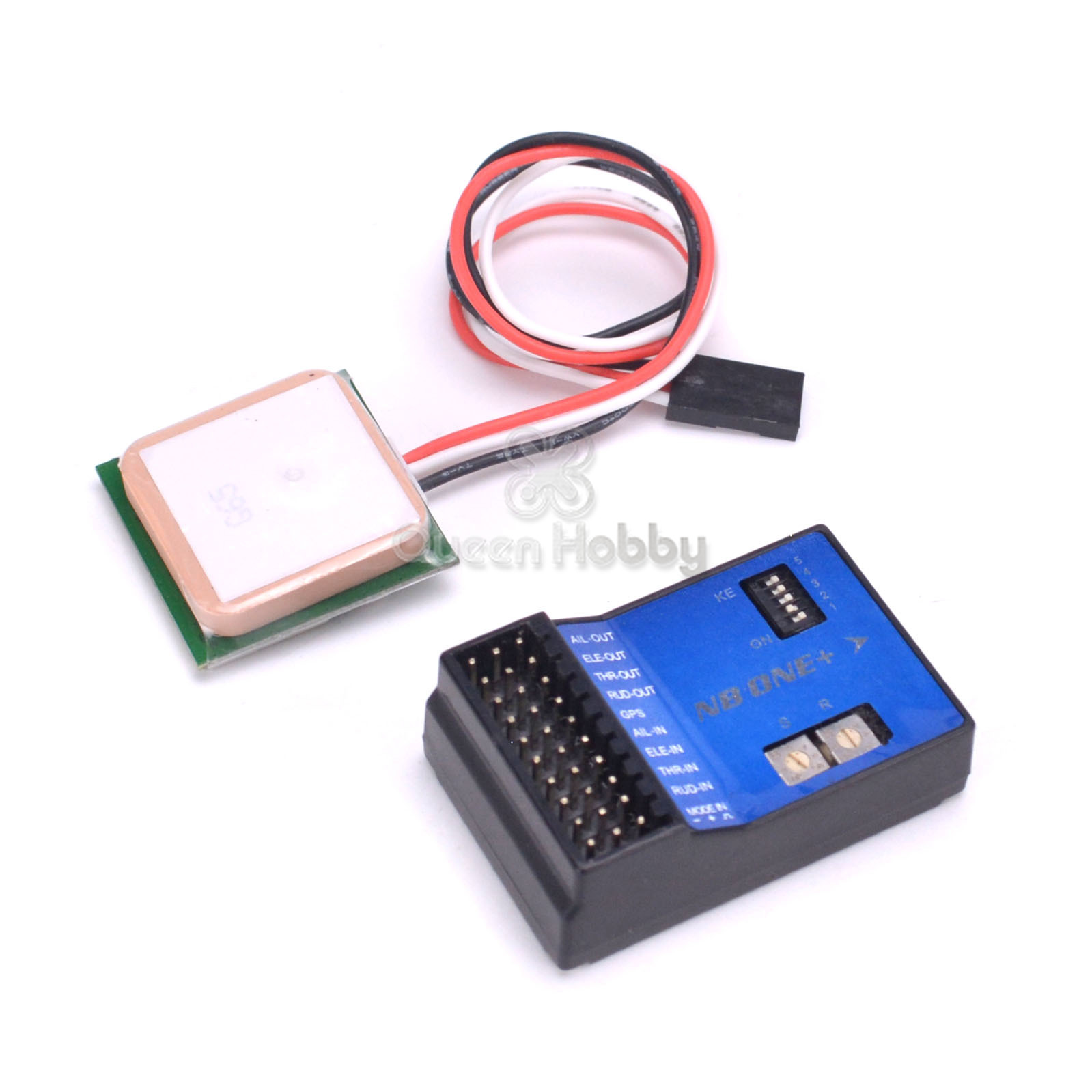 JMT 32 Bit Flight Controller 6-Axis Gyro Altitude Hold For FPV RC Fixed Wing