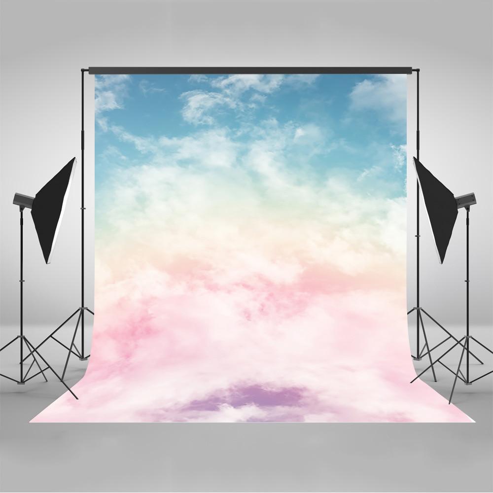 Nube blanca y telones de fondo de cielo azul para la fotografía - Cámara y foto