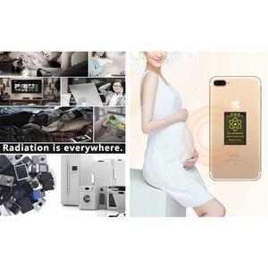Image 5 - 50pcs เยอรมนี Scalar Energy โทรศัพท์สติกเกอร์ป้องกันรังสีชิป SHIELD EMP EMF สำหรับตั้งครรภ์ 5G รังสี Protector