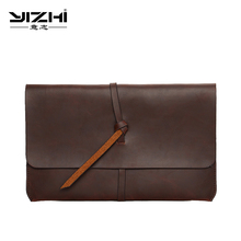 YIZHI New 2018 Business Mens Briefcase Is a High-quality PU Leather Large Capacity With Shoulder Bag Laptop