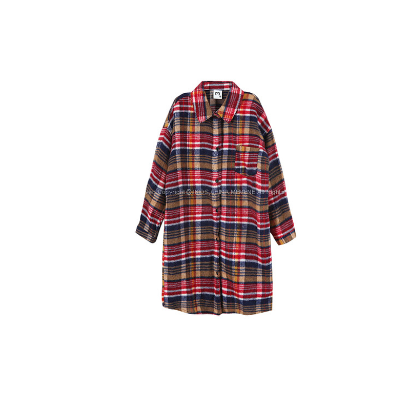 bbb62eb7 2018 New Baby Autumn Shirt Thickened Children Plaid Shirts Long Style Girl  Coat Long Sleeve Kid Casual Tops Toddler Shirts,#3385-in Blouses & Shirts  from ...