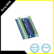 1PCS Standard Terminal Adapter Board For Arduino Nano V3.0 AVR ATMEGA328P ATMEGA328P-AU Module Board(China)