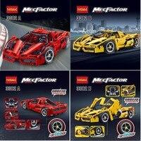 Decool 3382 F1 Technic Racing Car Enzo 1:10 Building Blocks Compatible Legoing 8653 Racer Model Brick Toy 9186 lepin 911
