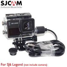 Original SJCAM SJ6 Legend Motorcycle Waterproof Charger Case for Original SJCAM SJ6 Legend Action Sports Camera on Motorybikes